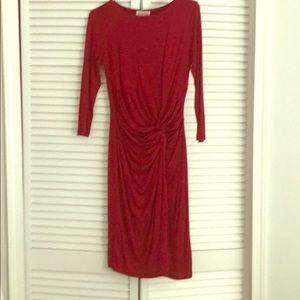 Barney's New York Red Dress Sz S